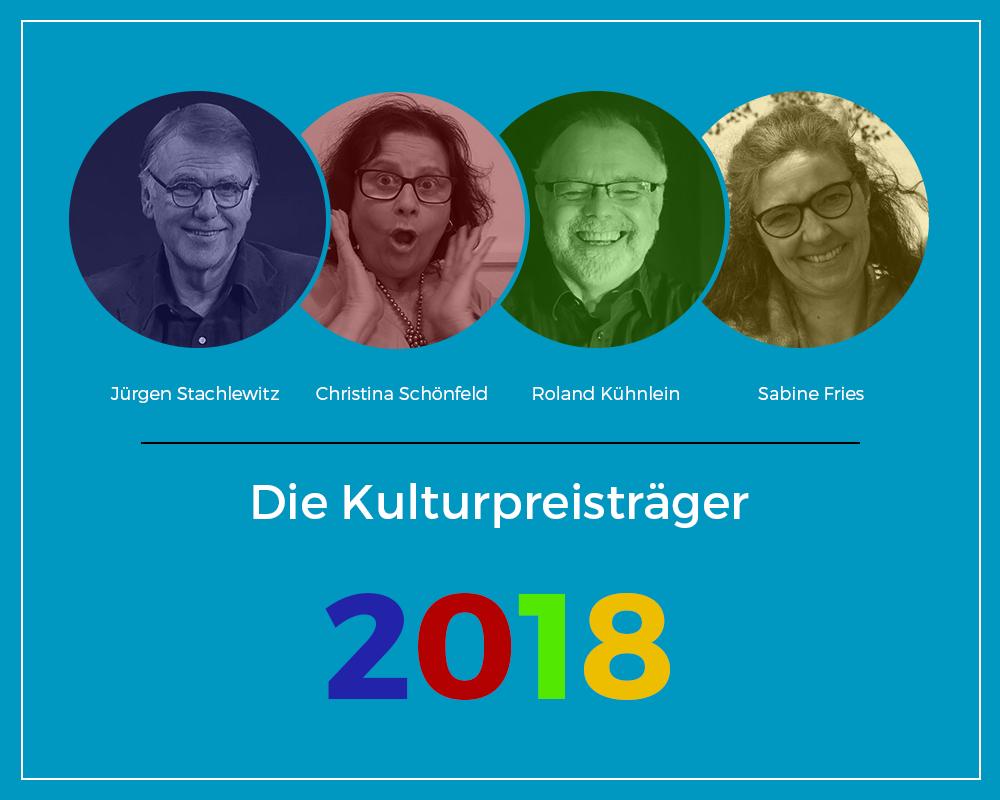Kulturpreis 2018 für Prof. Sabine Fries