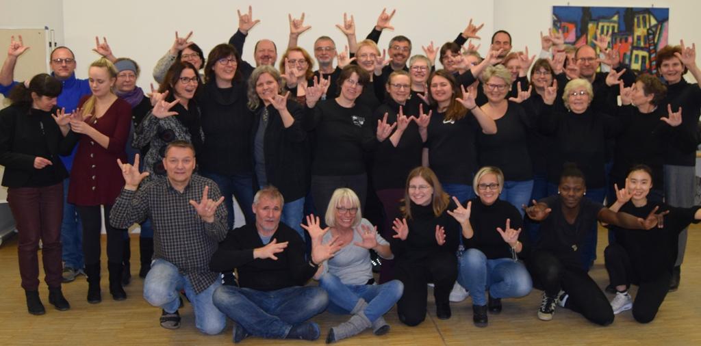 Drittes Gebärdenchor-Treffen der DAFEG