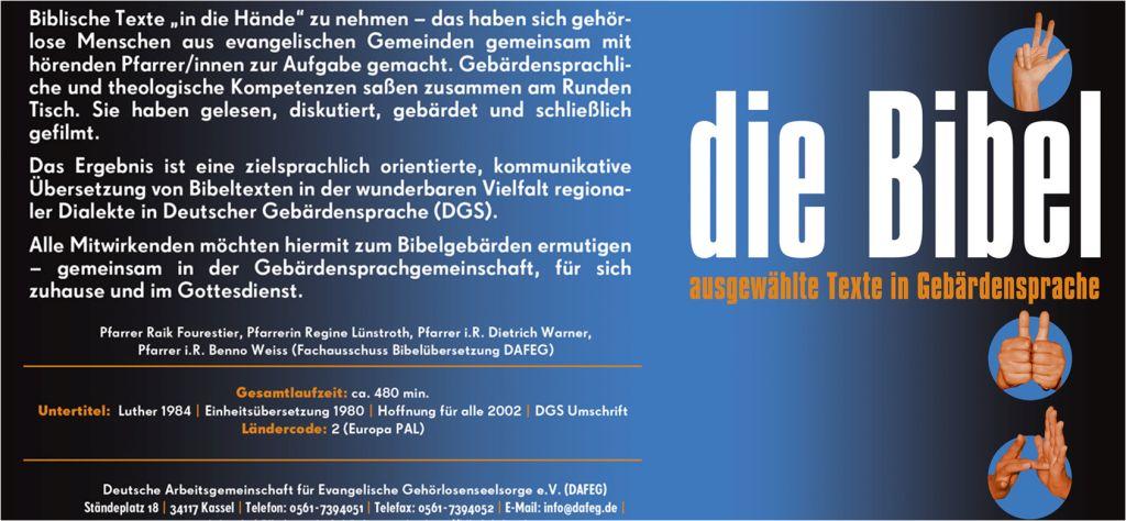 Cover Bibel-DVD